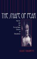Pdf The Shape of Fear