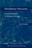 Disciplinary Discourses