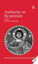 Authority in Byzantium