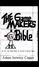 The Game Maker's Bible [Pdf/ePub] eBook