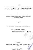The hand book of gardening
