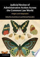 Judicial Review Of Administrative Action Across The Common Law World
