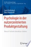 Psychologie in der nutzerzentrierten Produktgestaltung
