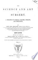 The Science and art of surgery v 1