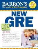 Barron s New GRE Graduate Record Examination
