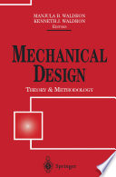 Mechanical Design  Theory and Methodology