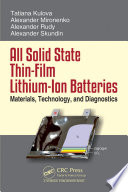 All Solid State Thin-Film Lithium-Ion Batteries