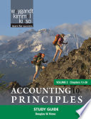 Accounting Principles  Study Guide
