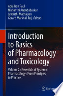 Introduction to Basics of Pharmacology and Toxicology