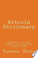 Bitcoin Dictionary