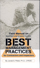 Field Manual on Sediment and Erosion Control