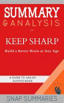 Summary & Analysis of Keep Sharp Pdf/ePub eBook
