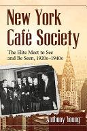 New York Caf  e Society