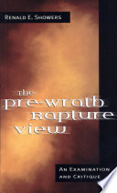 The Pre Wrath Rapture View