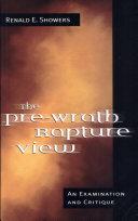 The Pre-Wrath Rapture View Pdf/ePub eBook