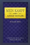 Mein Kampf  Vol  2