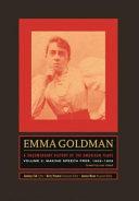 Emma Goldman: Making speech free, 1902-1909