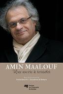 Amin Maalouf: une oeuvre à revisiter [Pdf/ePub] eBook