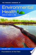 The Praeger Handbook of Environmental Health  4 volumes