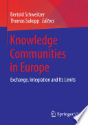 Knowledge Communities in Europe Book