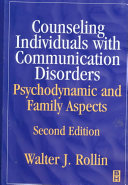 Counseling Individuals with Communication Disorders