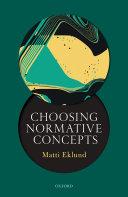 Choosing Normative Concepts