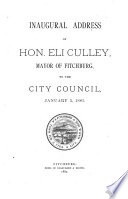 Address Of The Mayor Together With The Annual Reports For The City Of Fitchburg Massachusetts For The Year