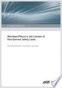 Microbial Effects in the Context of Past German Safety Cases (KIT Scientific Reports ; 7744)