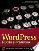 WordPress : diseño y desarrollo