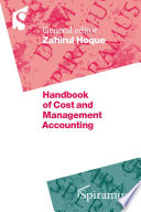 Handbook of Cost and Management Accounting