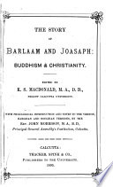 The Story of Barlaam and Joasaph