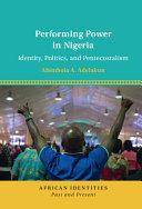 Performing Power in Nigeria