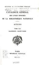 Catalogue général des livres imprimés: auteurs - collectivités-auteurs - anonymes, 1960-1964
