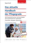 Das aktuelle Handbuch der Pflegestufen