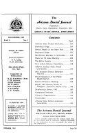 Arizona Dental Journal Book
