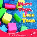 More Than  Less Than