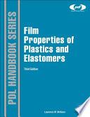Film Properties of Plastics and Elastomers Book