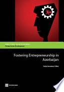 Fostering Entrepreneurship in Azerbaijan