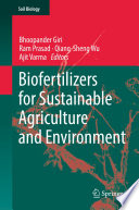 Biofertilizers for Sustainable Agriculture and Environment Book