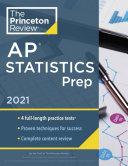 Princeton Review AP Statistics Prep 2021 Book