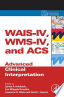 Wais Iv Wms Iv And Acs Book PDF