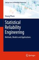 Statistical Reliability Engineering Pdf/ePub eBook