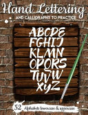 Hand Lettering and Calligraphy to Practice Book PDF