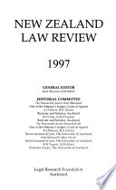 New Zealand Law Review