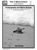 Year 11 Marine Science Student Workbook
