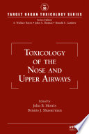 Toxicology of the Nose and Upper Airways Book