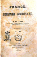 France : dictionnaire encyclopédique