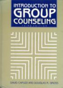 Introduction to Group Counseling Book