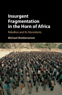 Pdf Insurgent Fragmentation in the Horn of Africa