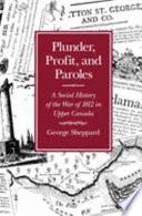 Plunder  Profit  and Paroles